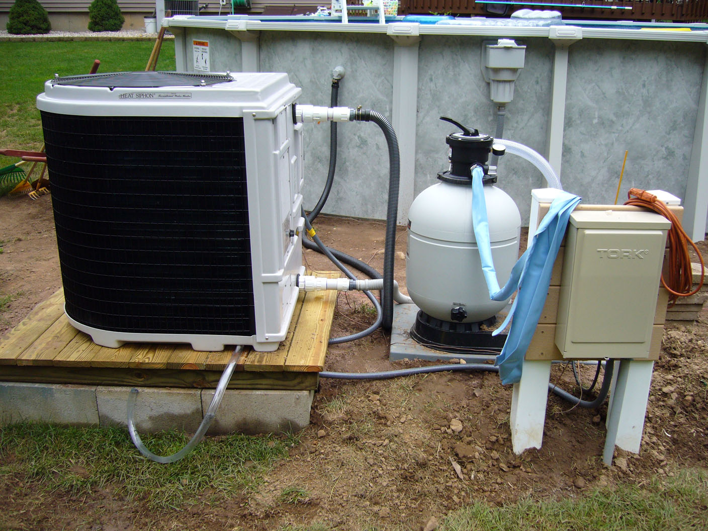 heat pump installation 68 Dahl