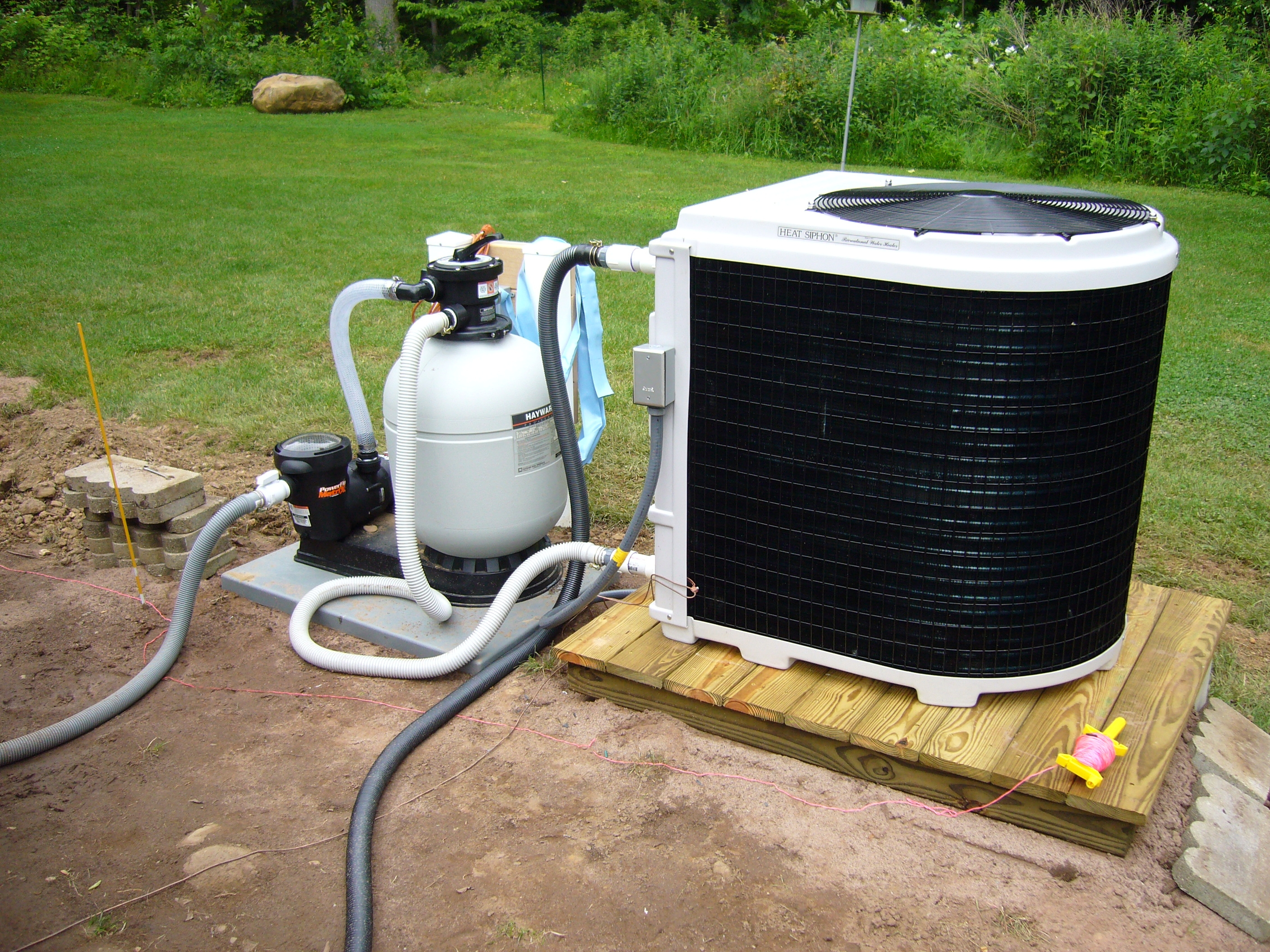 heat pump installation 68 Dahl 2