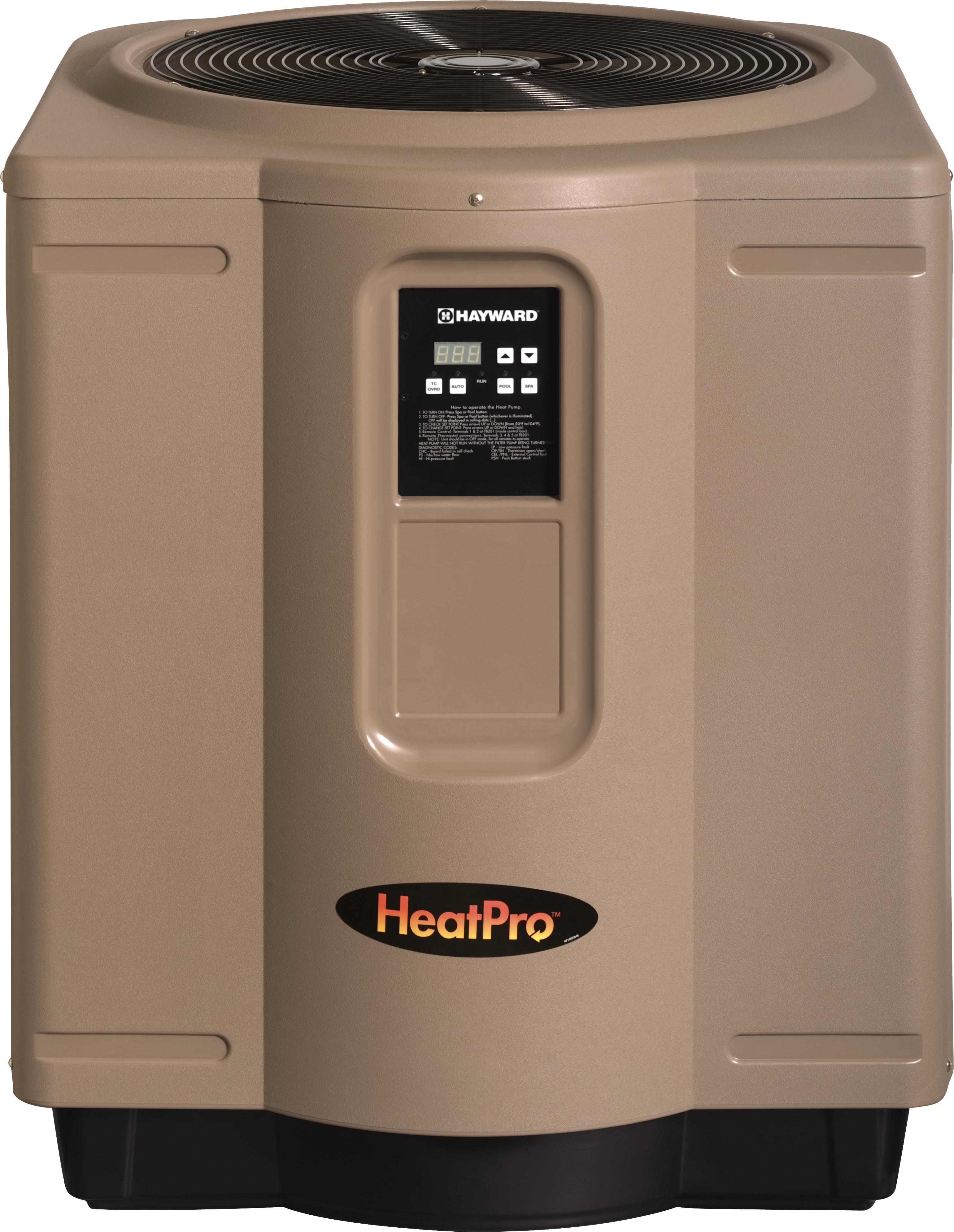Hayward Heat Pump Pool Heaters Wiring Code Pro