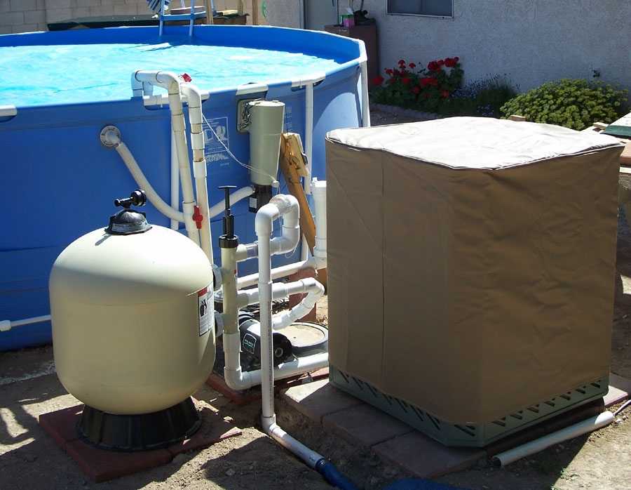 Pool Heat Pump Winter Cover
