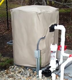 Pool heater and heat pump covers for Heat pump vs gas heaters for swimming pool reviews