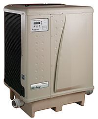 Pentair heat pump pool heater
