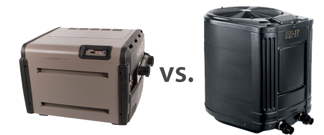 pool heater compared to pool heat pump