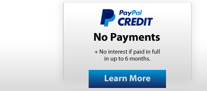 Pool Heat Pump Financing with PayPal Credit