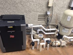 Swimming Pool Heat Pump Installation