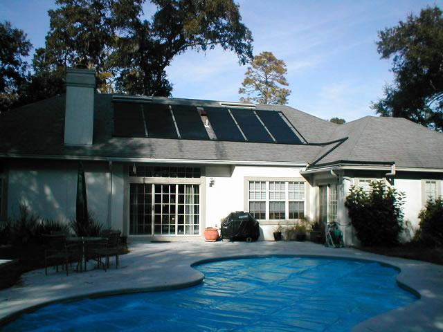 Solar Panels for swimming pool heating