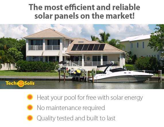 Solar Panel Pool Heating Benefits