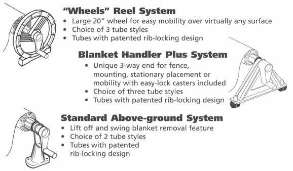 Solar Blanket Handler Feherguard Pool Cover Reel System