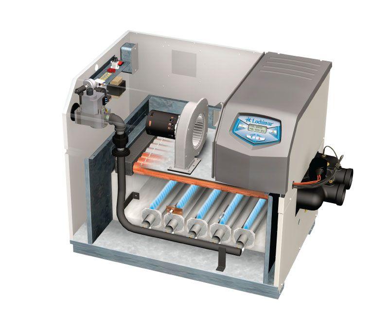 Lochinvar Energyrite202 Gas Pool Heater 200 000 Btu