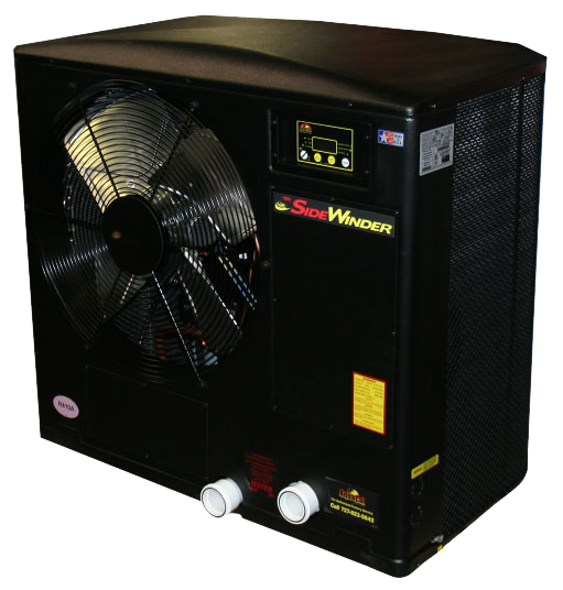 Aquacal Sidewinder Sw112 Side Discharge Pool Heat Pump