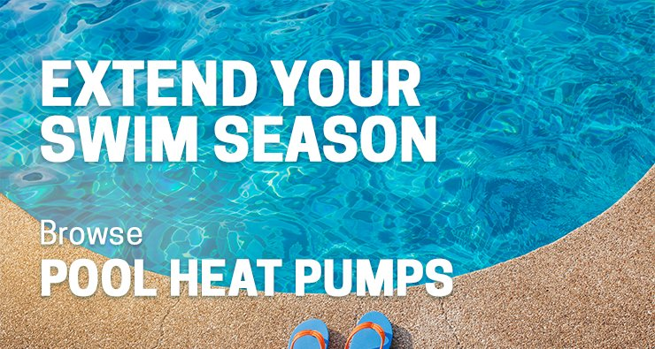 Extend Your Swim Season With a Heat Pump
