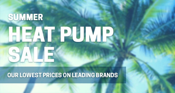 Pool Heater Sale Banner